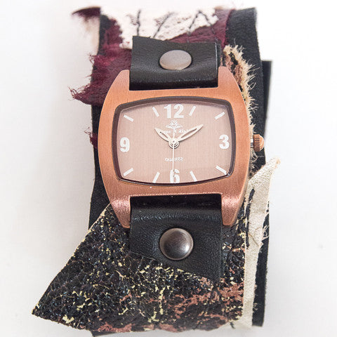 Burgundy Ballet Classic Cuff Watch