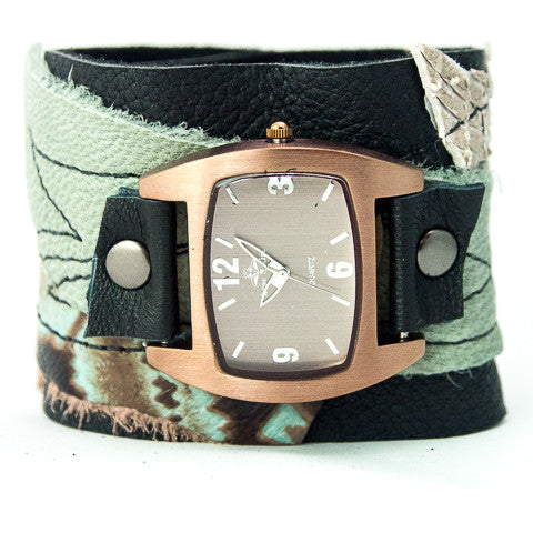 Twisted Tuscan Wide Cuff Watch
