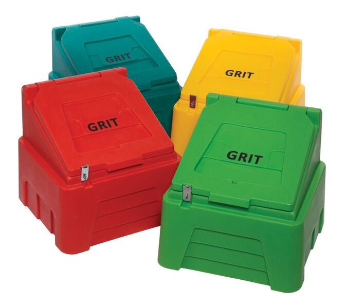 Grit Bin (Lockable)- 200 Litre