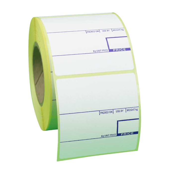 58 x 60mm CAS Thermal Scale Labels