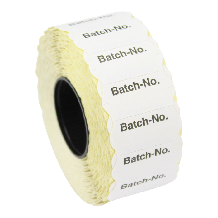 CT4 26 x 12mm Labels Printed 'Batch-No'