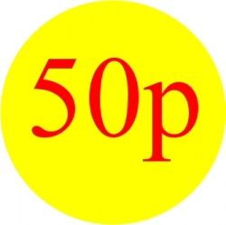 Promotional Labels -50p