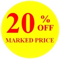 Promotional Labels - 20% Off