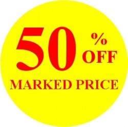 Promotional Labels - 50% Off