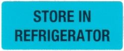 Self Adhesive Refrigeration Labels - 36mm x 15mm (Qty: 1,000)