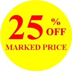 Promotional Labels - 25% Off