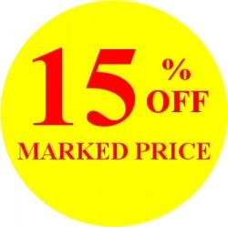 Promotional Labels - 15% Off
