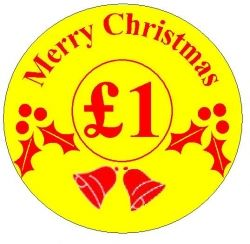 Promotional Labels - Merry Christmas