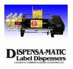 Dispensa-matic Bottle-matic 10-II Cylinder Labelling Machine