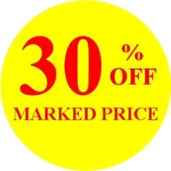 Promotional Labels - 30% Off