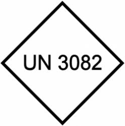 UN 3082 Dangerous Goods Label (Qty: 1,000)