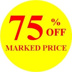 Promotional Labels - 75% Off