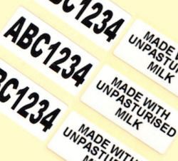 52mm x 38mm Semi-Gloss Printed Labels (5,000)