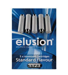 Elusion Electronic Cigarette Nicotine FREE Starter Kit - BLUE LED