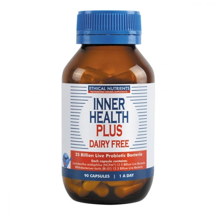 Ethical Nutrients Inner Health Plus - DAIRY FREE Capsules 90