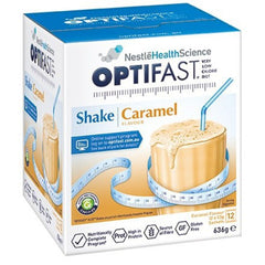 OPTIFAST Caramel Shake 12x53g