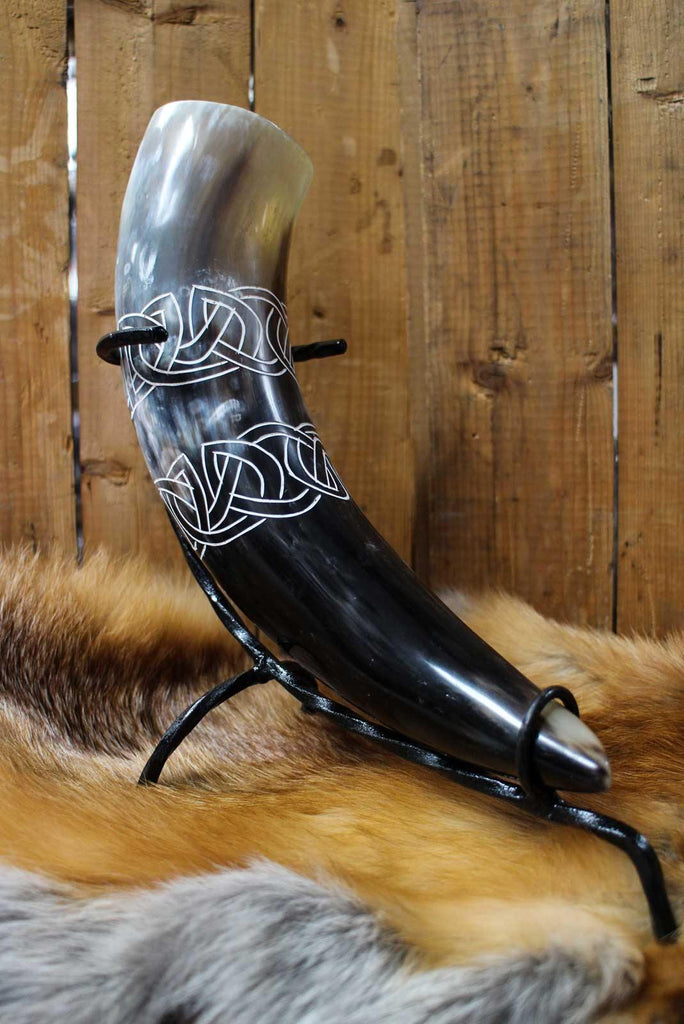 Celtic Drinking Horn, Light - 500 ml - Epic Armoury Unlimited