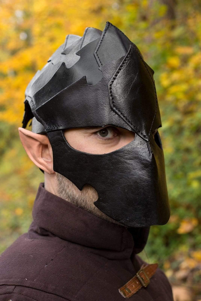 Assassin Helmet, Black - Epic Armoury Unlimited