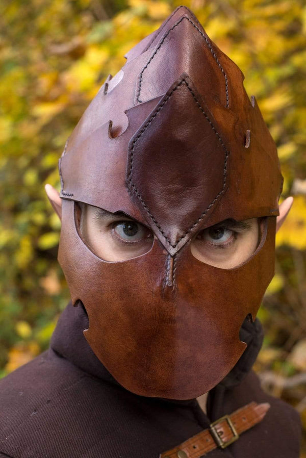 Assassin Helmet, Brown - Epic Armoury Unlimited