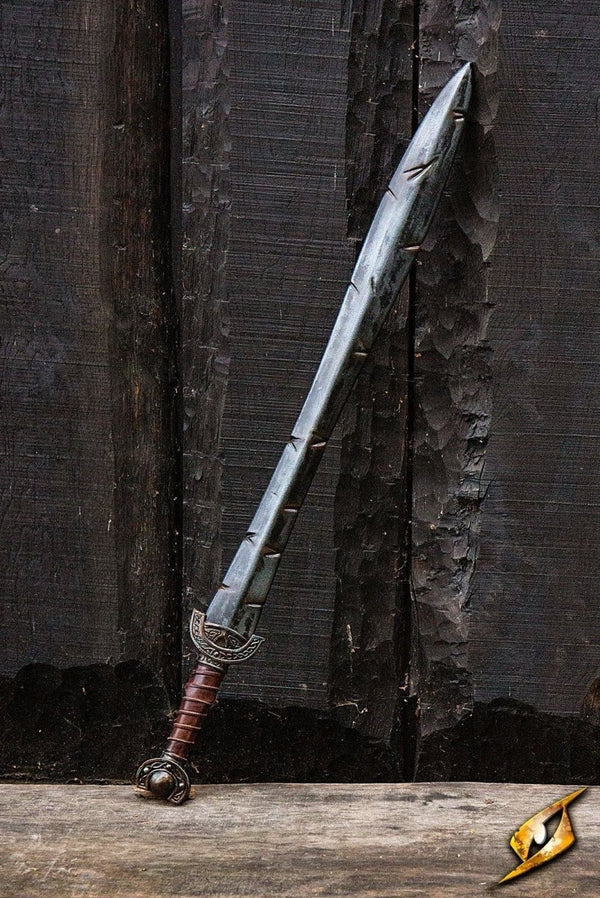 Battleworn Celtic Leaf Sword, 100 cm - Epic Armoury Unlimited