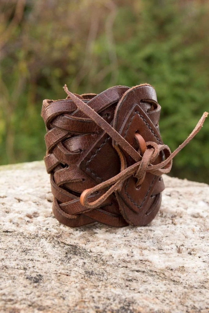 Braided Bracelet, Brown - Epic Armoury Unlimited