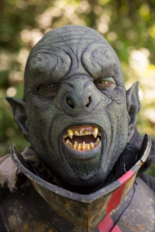 Carnal Orc Mask, Green - Epic Armoury Unlimited