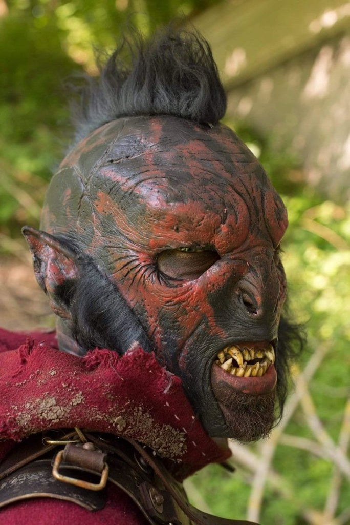 Carnal Orc Mask, Red - Epic Armoury Unlimited