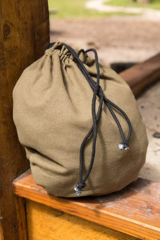 Cotton Purse, Army Green - Epic Armoury Unlimited
