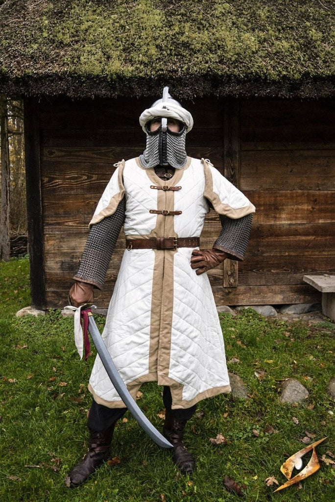Dastan Gambeson, Beige and White - Epic Armoury Unlimited