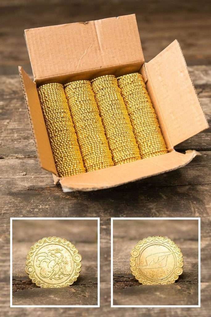 Dragon Fantasy Coins, Gold - Epic Armoury Unlimited