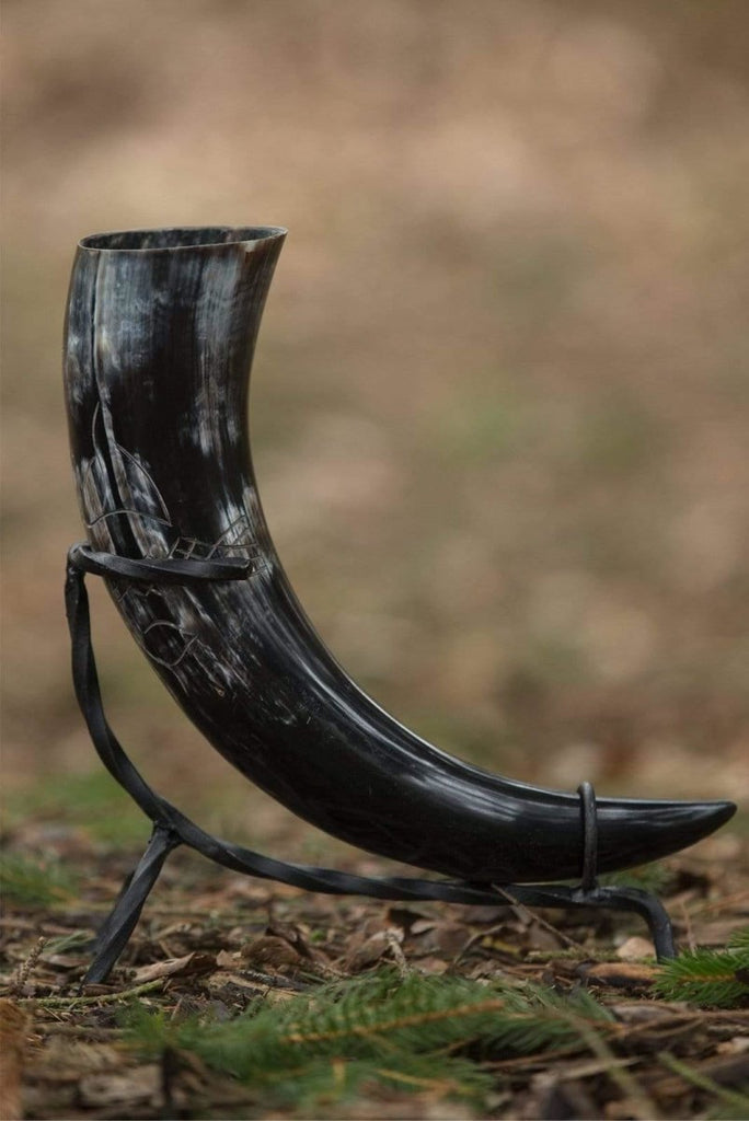 Druid Drinking Horn Dark,  500ml - Epic Armoury Unlimited