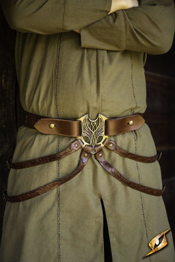 Elven Belt, Brown - Epic Armoury Unlimited