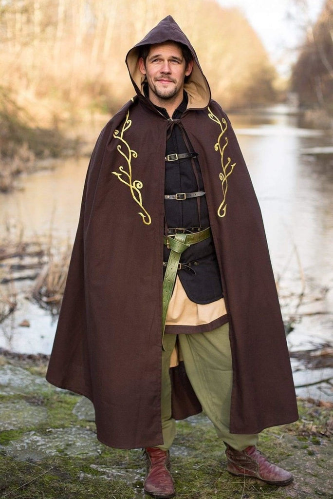 Exclusive Cape, Brown - Epic Armoury Unlimited