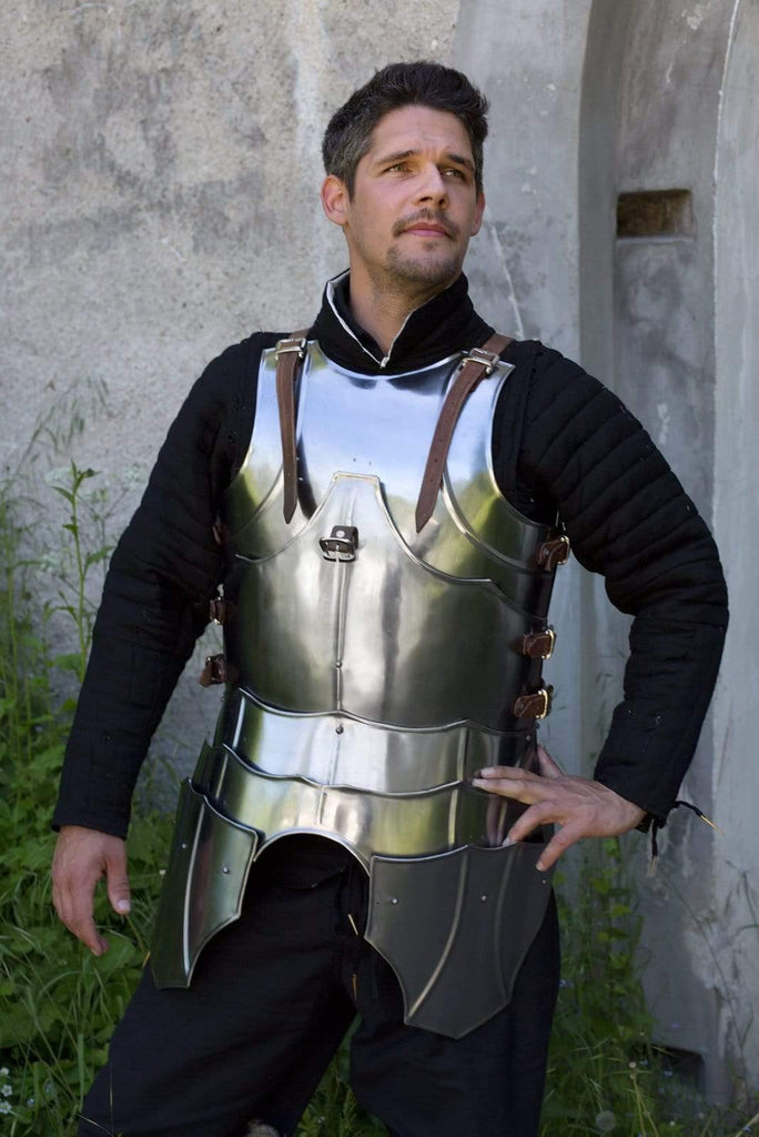 Gothic Half Armor - Polished Steel - Epic Armoury Unlimited