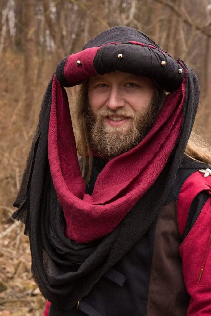 Jafar Turban, Red - Epic Armoury Unlimited