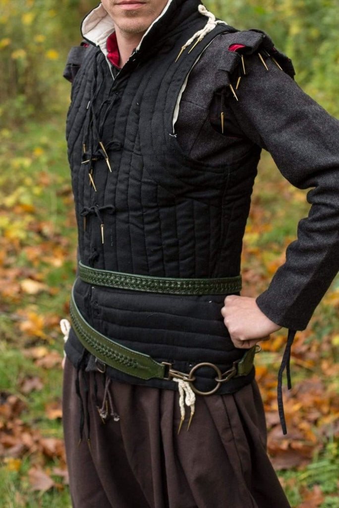 Laced Sword Belt, Dryad Green - Epic Armoury Unlimited