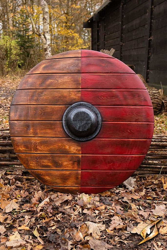 Large Drang Shield, Red - 80 cm - Epic Armoury Unlimited