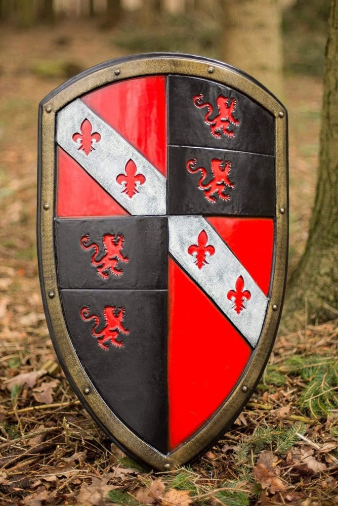 Lion Shield, Red - Epic Armoury Unlimited