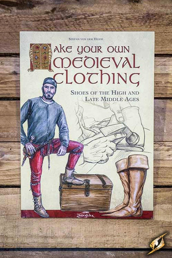 Medieval Clothing Book, Shoes - Epic Armoury Unlimited