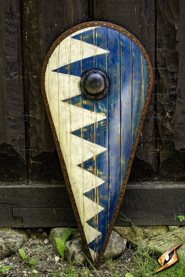 Norman Shield, Blue and White
