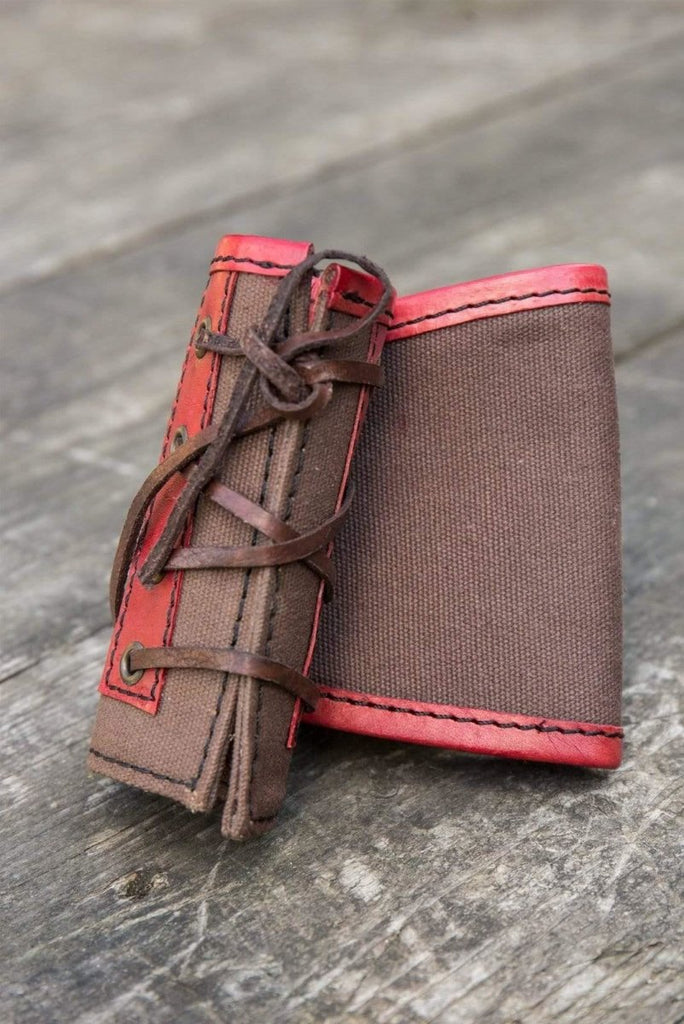 RFB Medium Holder, Brown And Red