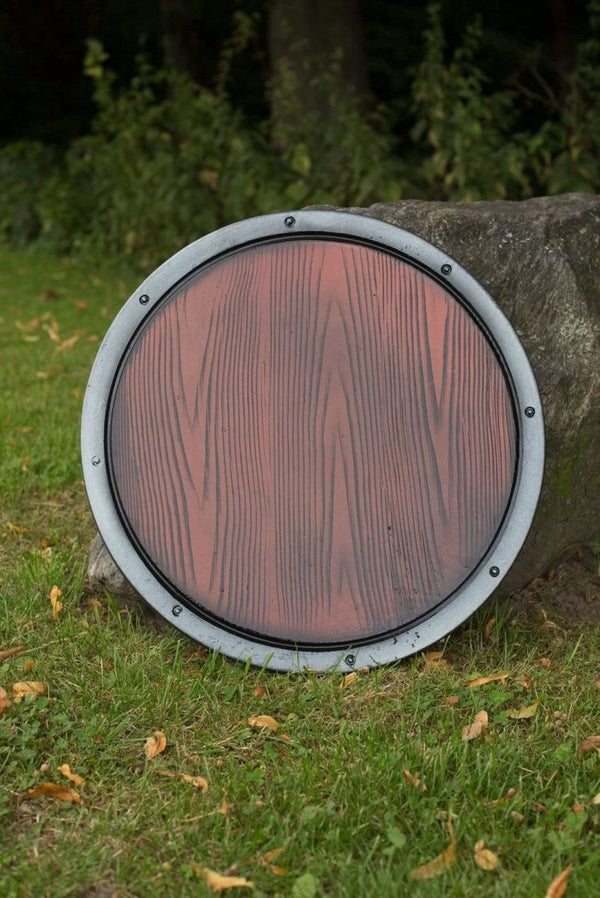 RFB Round Shield, Wood
