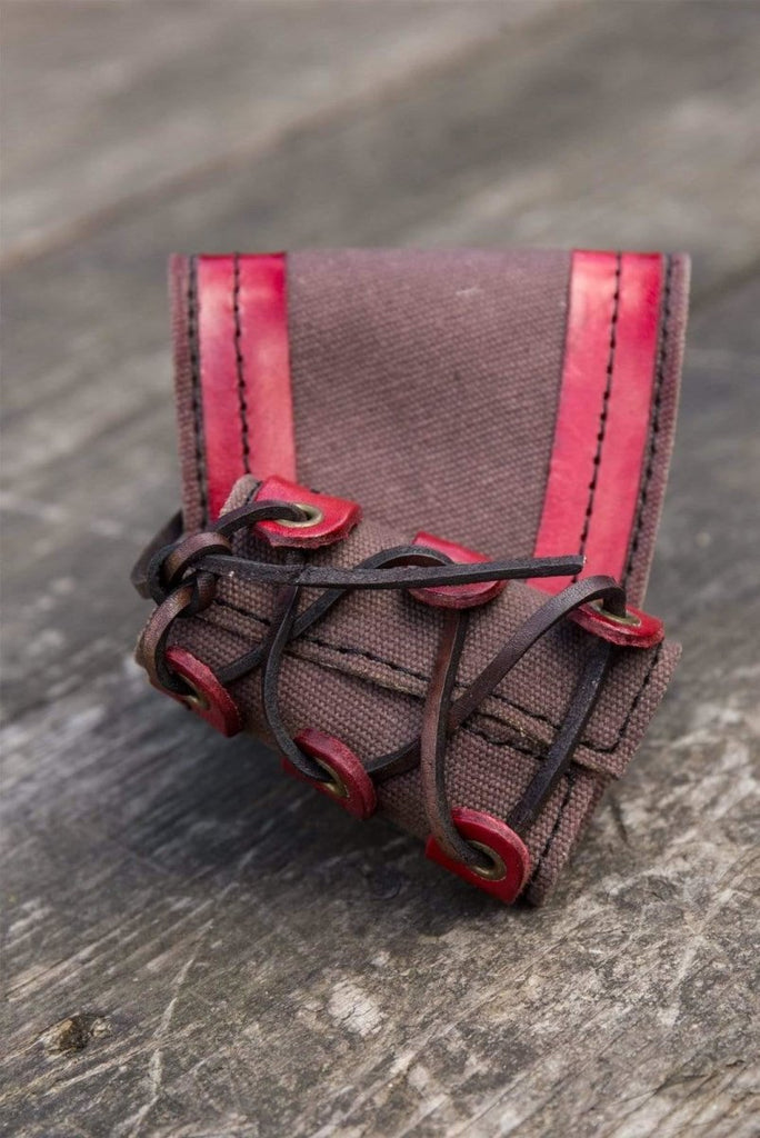 RFB Small Holder, Brown And Red