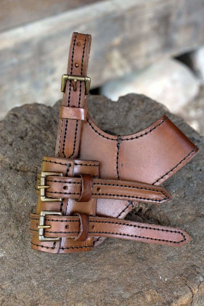 Right Hand Adventurer Sword Holder, Brown
