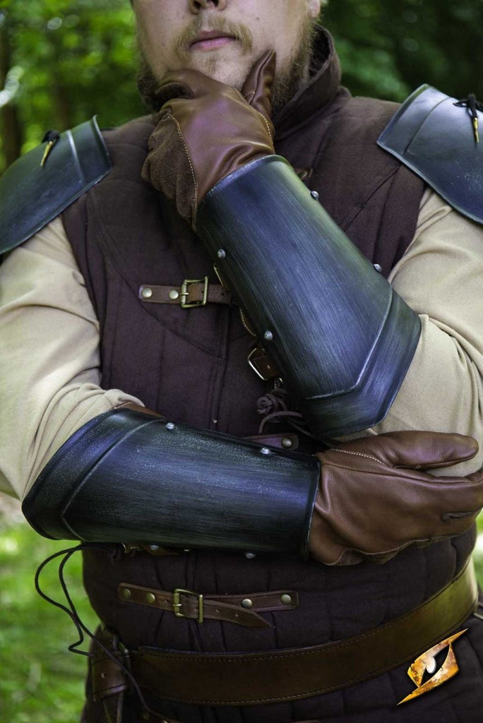 Scout Arm Guards, Dark Steel