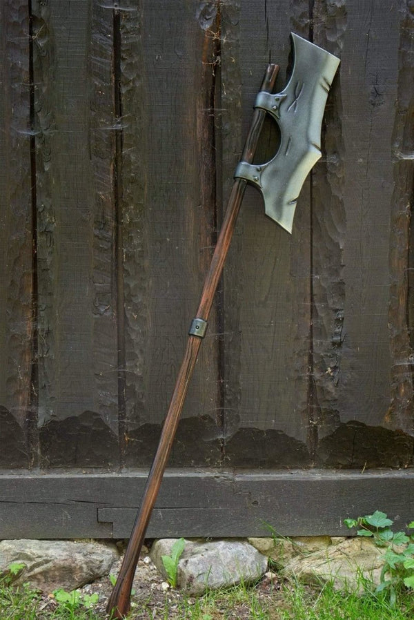 Single Bladed Long Foam Axe, 190 cm
