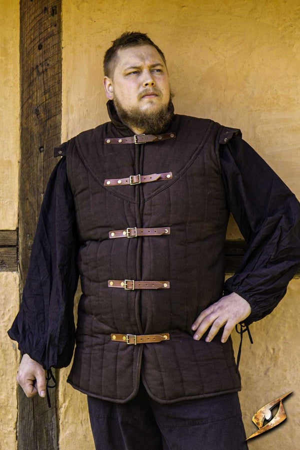 Warrior Gambeson Torso, Brown