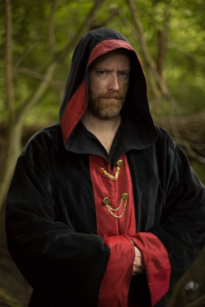 Wizard Robe, Black and Red