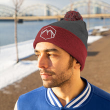 Load image into Gallery viewer, White Embroidered Lettering Beanie