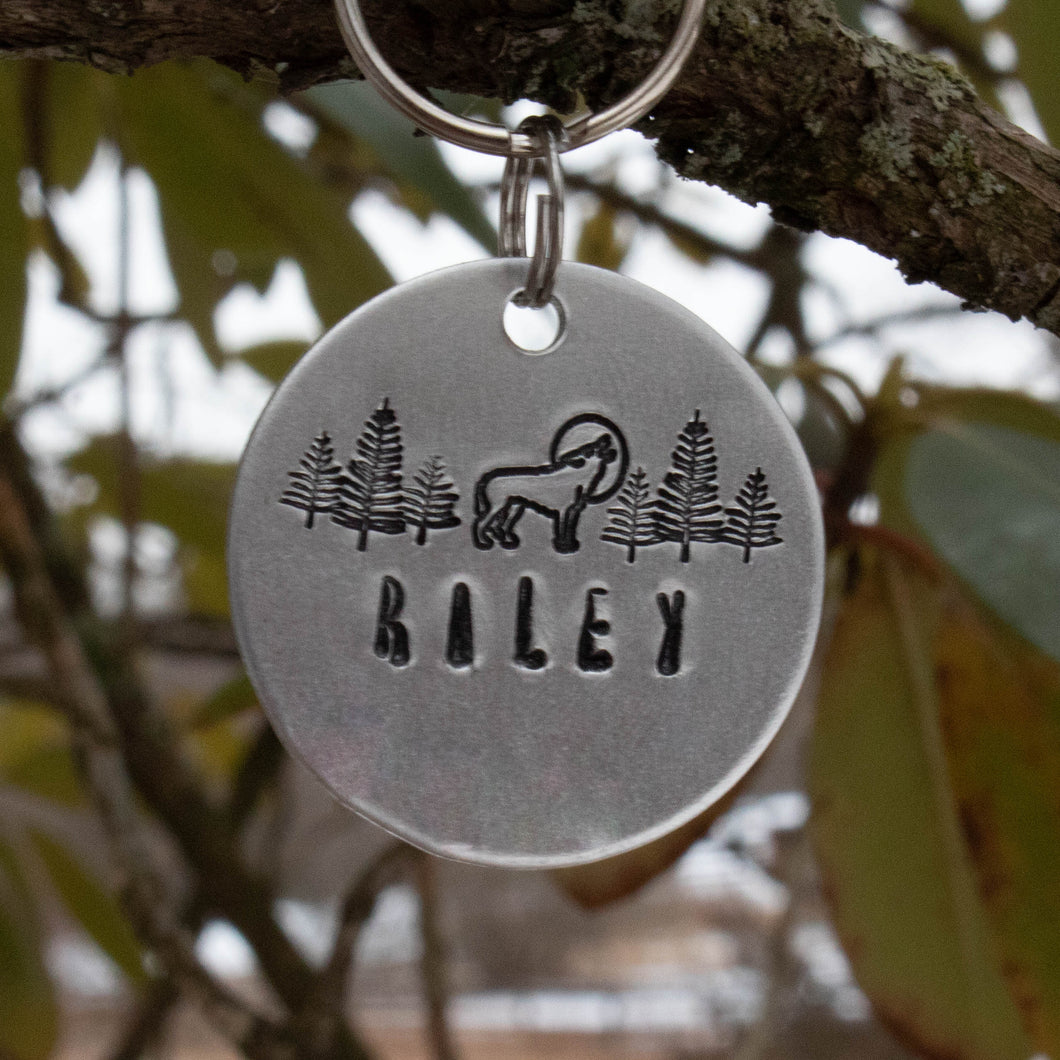 Wild Thing Dog Tag